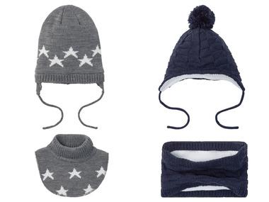 LUPILU® Chlapecká zimní čepice / dutá šála / límec na krk