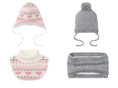 LUPILU® Dívčí zimní čepice / dutá šála / límec na krk