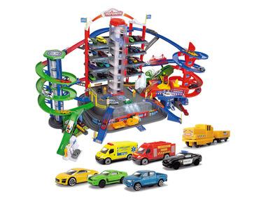 Majorette Parkovací dům Super City