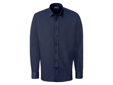 "NOBELLEAGUE® Pánská košile BIO ""Slim Fit"" modrá"