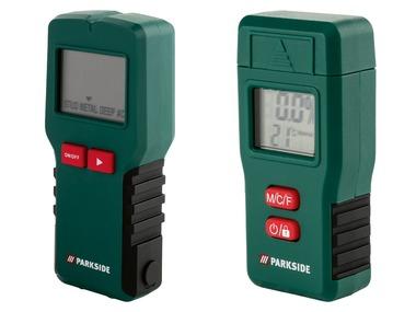 PARKSIDE® Multifunkční detektor / měřič vlhkosti dřeva a stavebních materiálů PMSHM 2 A1