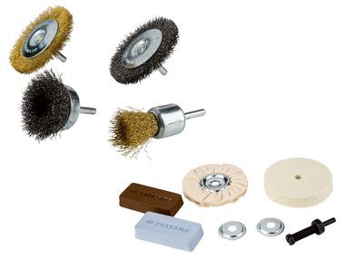 PARKSIDE® Sada lešticích kotoučů a drátěných kartáčů PBZS 20 A1