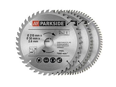 PARKSIDE® Sada pilových kotoučů PSBS 3 A1