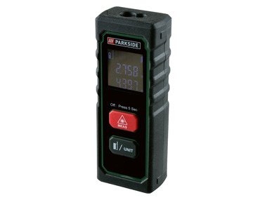 PARKSIDE® Laserový měřič vzdálenosti 20 m PLEM 20 A4