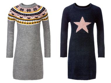 PEPPERTS® Dívčí pletené šaty