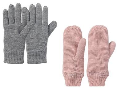 PEPPERTS® Dívčí termo pletené rukavice