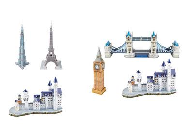 PLAYTIVE® 3D puzzle – známé pamětihodnosti