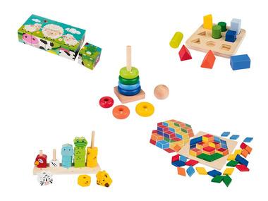 PLAYTIVE® Dřevěná edukativní hra