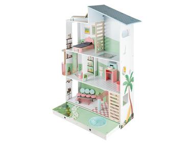 PLAYTIVE® Dřevěná vila pro panenky