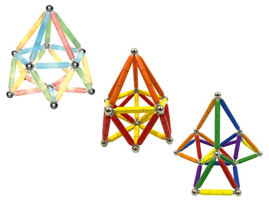PLAYTIVE® Magnetická stavebnice