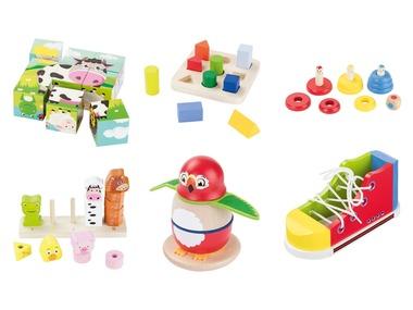 PLAYTIVE®JUNIOR Dřevěná motorická hračka