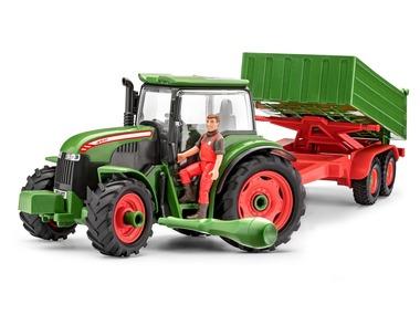 Revell Traktor s přívěsem a figurkou farmáře