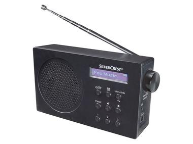 SILVERCREST® Rádio DAB+ SDR 15 A1