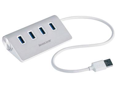 """SILVERCREST® Rozbočovač USB """"SUHL 4 A1"""""""