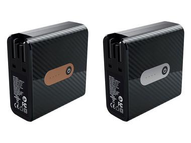 SILVERCREST® Cestovní USB nabíječka s integrovanou powerbankou 5200 mAh SMRP 5200 A1