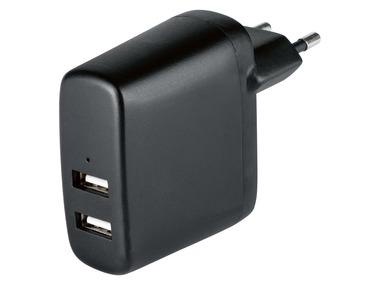 SILVERCREST® Duální USB nabíječka