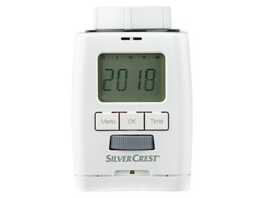 SILVERCREST® Programovatelná termostatická hlavice