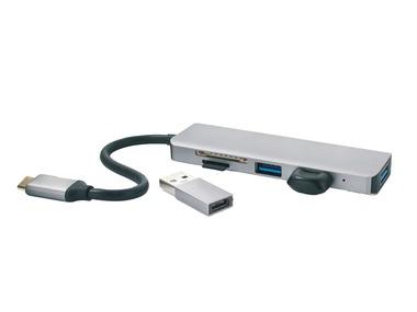 SILVERCREST® USB multi adaptér / slot USB / micro SD 1 SUHL 2 A