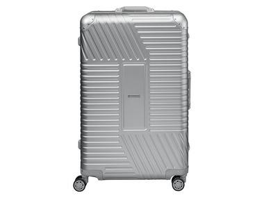 TOPMOVE® Hliníkový skořepinový kufr 89 l