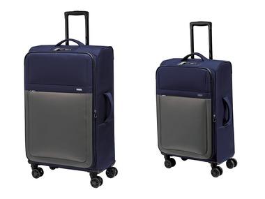 TOPMOVE® Sada cestovních kufrů modrá / šedá