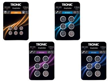 TRONIC® Knoflíkové baterie